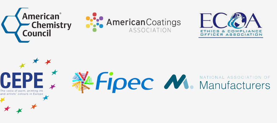 American Chemistry Council, American Coatings Association< ECOA, CEPE, FIPEC, National Association of Manufacturers